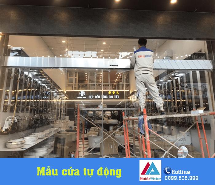 Báo Giá Thi Công Lắp Đặt Cửa Tự Động Trung Quốc Cao Cấp 4