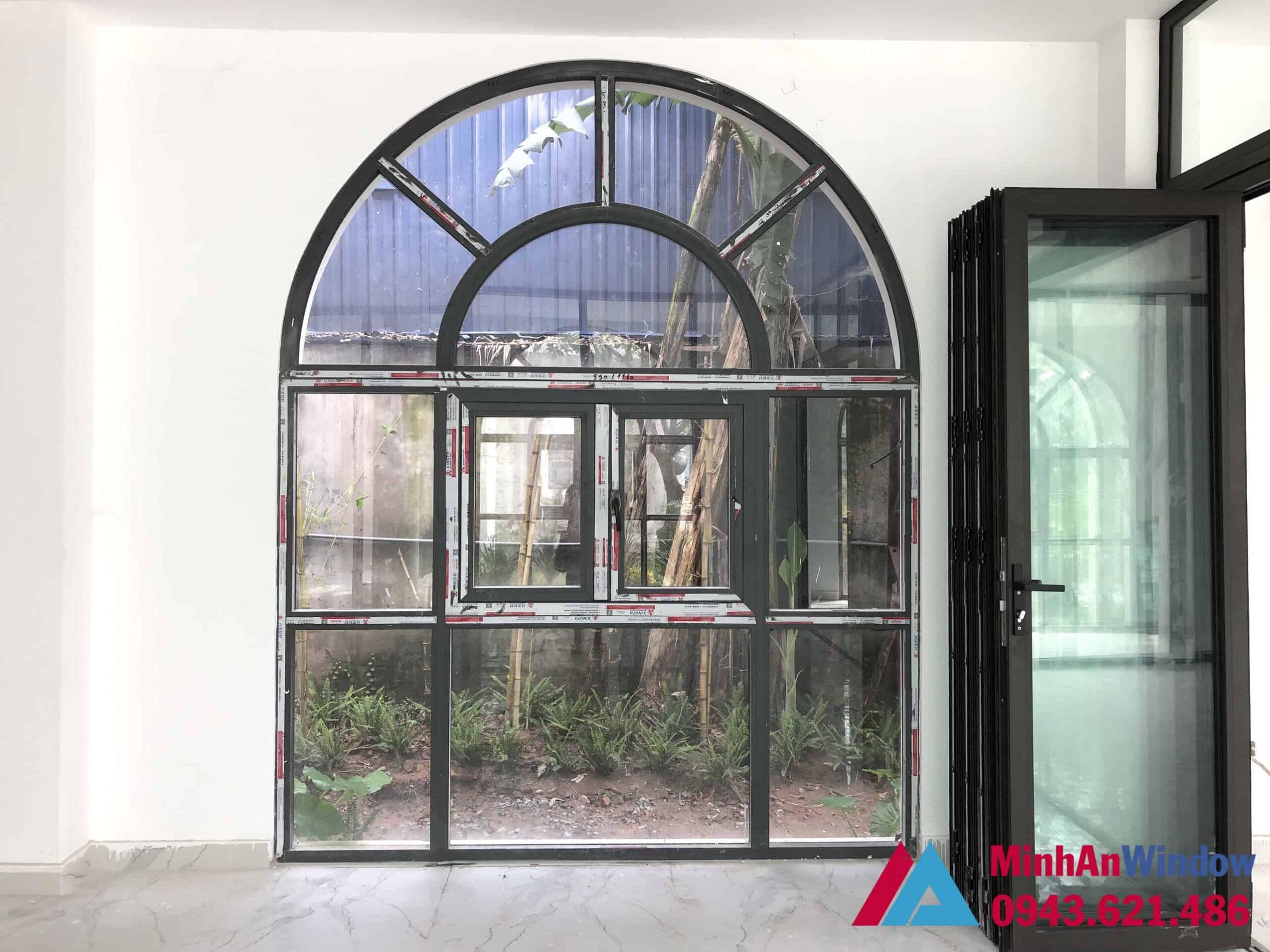 Cửa sổ nhôm kính do Minh An thiết kế và lắp đặt