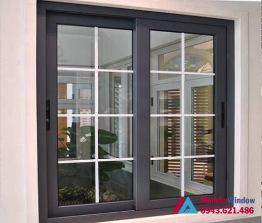 Mẫu cửa sổ nhôm kính 2 cánh tại Sơn La do Minh An Window lắp đặt