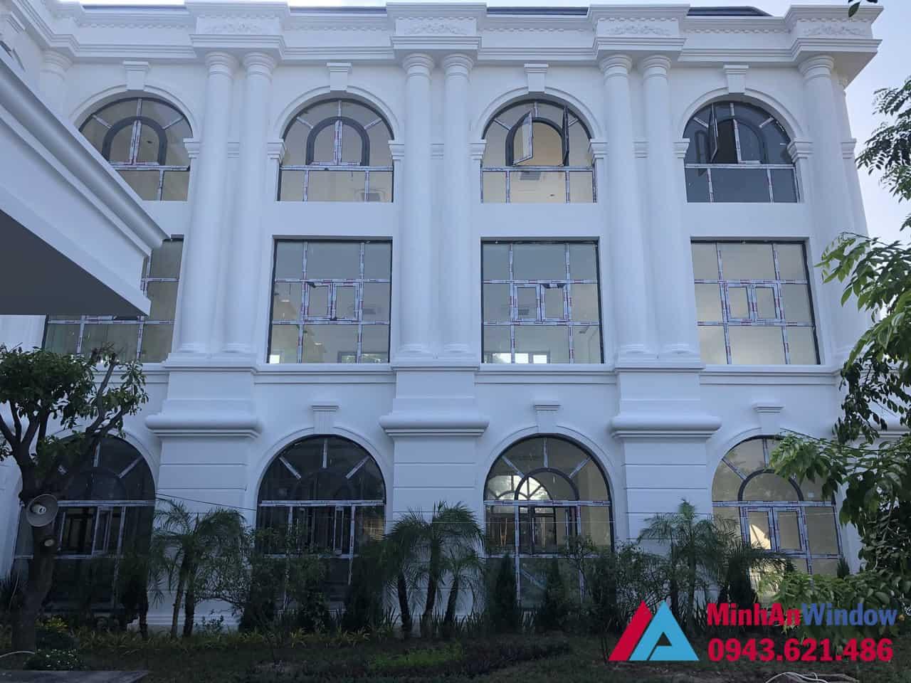 Công trình cửa nhôm kính do Minh An Window thi công và lắp đặt
