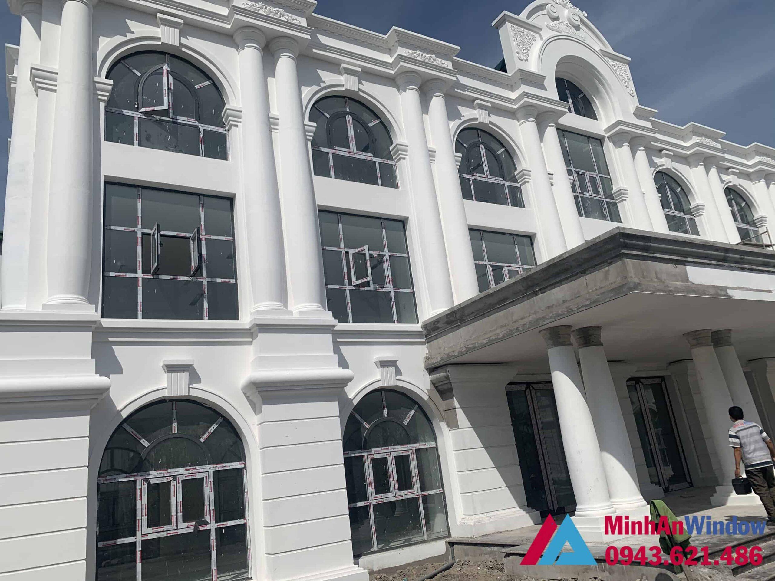 Minh An Window lắp đặt hạng mục cửa nhôm kính cho nhà biệt thự cao cấp