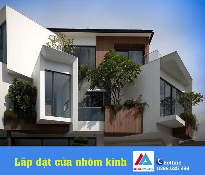 Minh An Window lắp đặt hạng mục cửa nhôm kính tại quậnNam Từ Liêm - Hà Nội