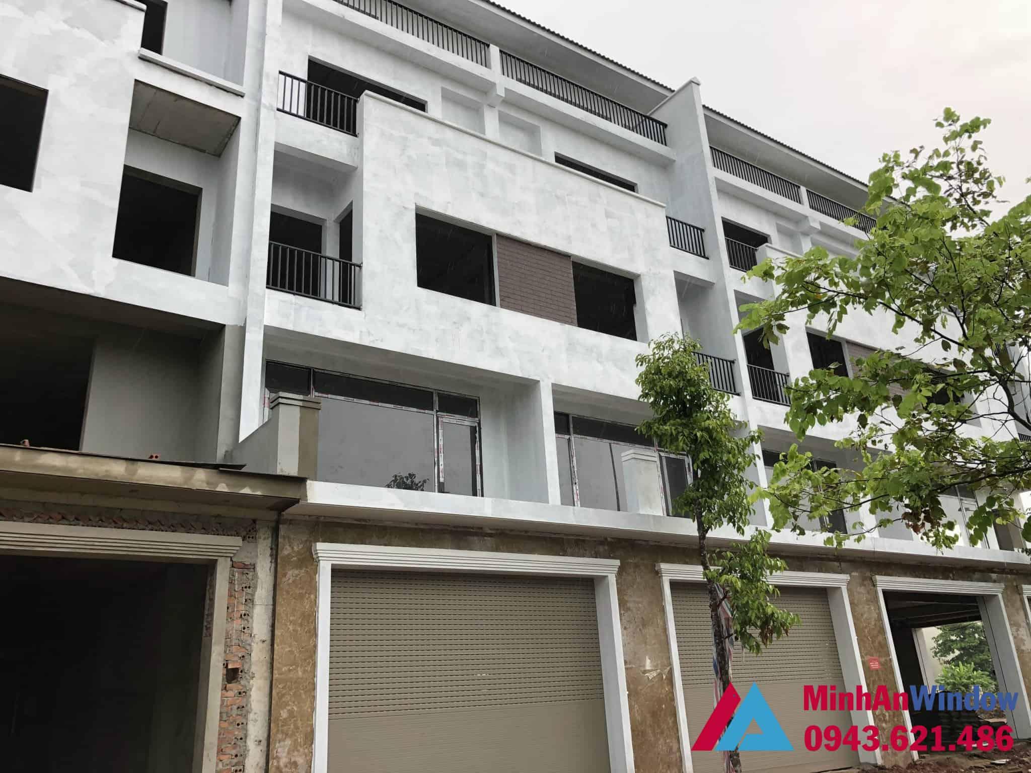 Minh An Window lắp đặt cửa nhôm kính tại thị xã Sơn Tây cho nhà biệt thự