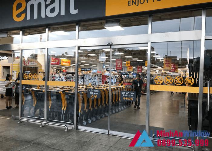 Tư vấn chọn cửa tự động phù hợp siêu thị chính hãng 5