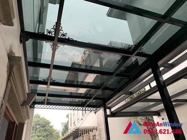 Công trình mái kính tại khu công nghiệp Bắc Thường Tín do Minh An Window lắp đặt