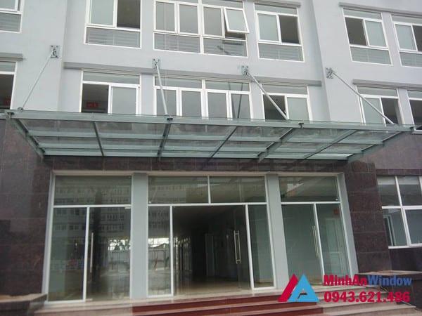 Công trình cửa nhôm kính tại KCN Phùng Xá - Hà Nội do Minh An Window lắp đặt
