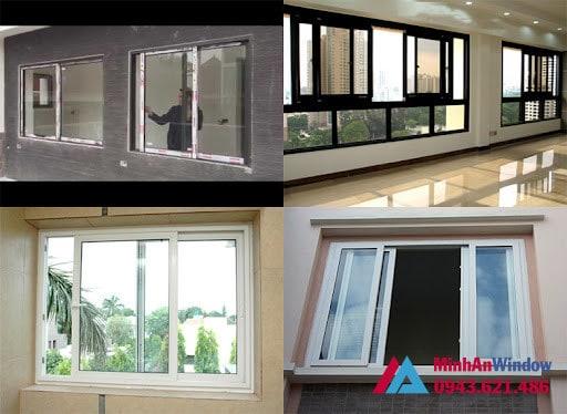 Mẫu cửa sổ nhôm kính tại KCN Đài Tư - Long Biên  do Minh An Window lắp đặt